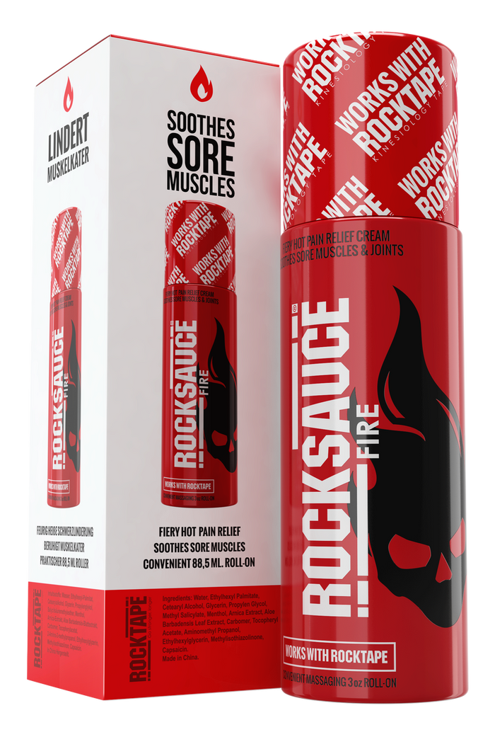 RockSauce Fire 89mL - Hot Pain Relief and Tape Prep