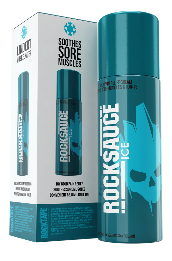 RockSauce Ice 89mL - Pain Relieving Gel