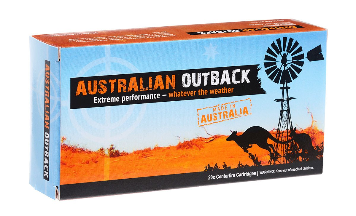 Just arrived, the famous Australian Outback .243 87 grain
