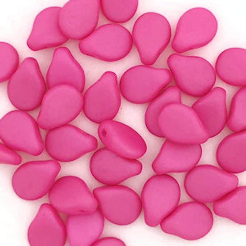 Pip Beads, Hot Pink (Qty. 35)