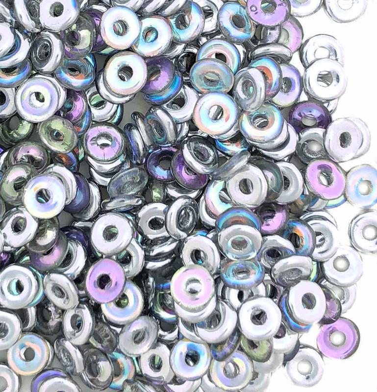 O Beads, Crystal Silver Rainbow (10 gr.)