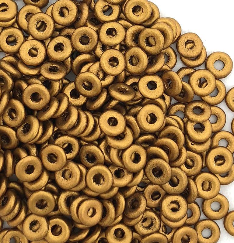O Beads, Brass Gold (10 gr.)