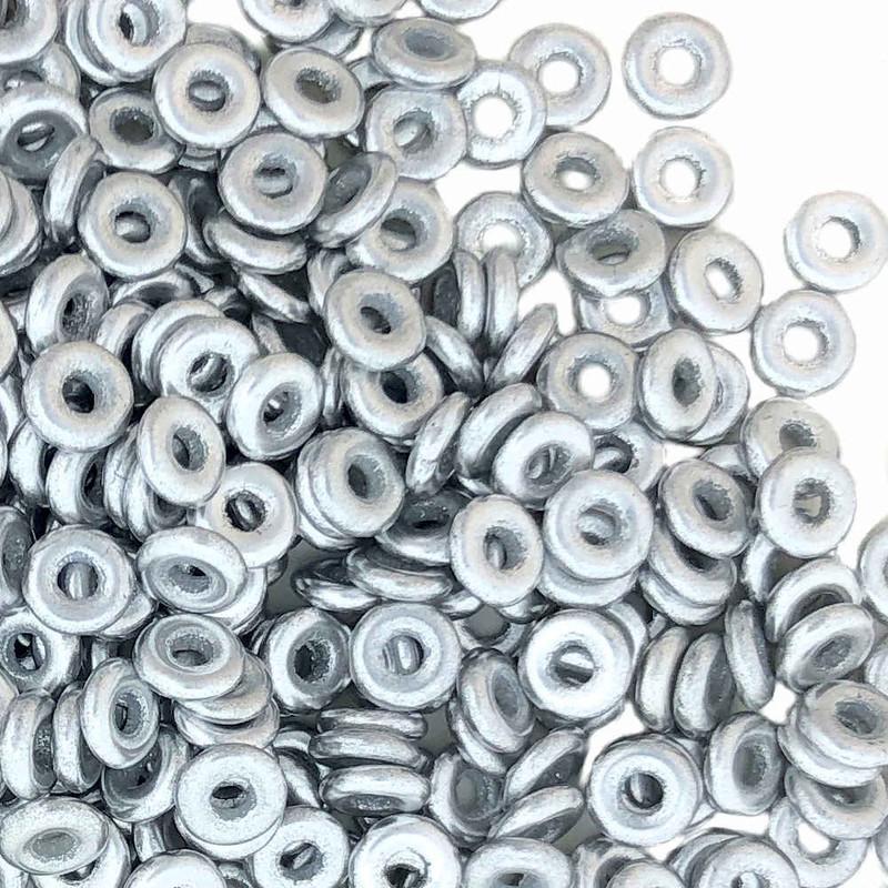 O Beads, Aluminum Silver (10 gr.)
