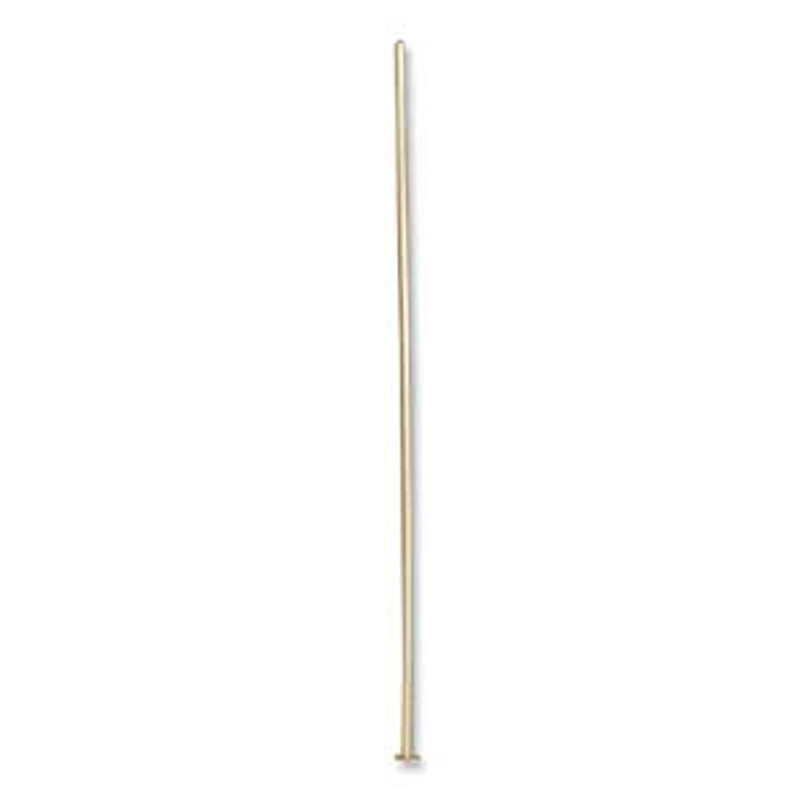 Headpin, 2 inch, 22 GA, 14K Gold Filled (Qty: 4)