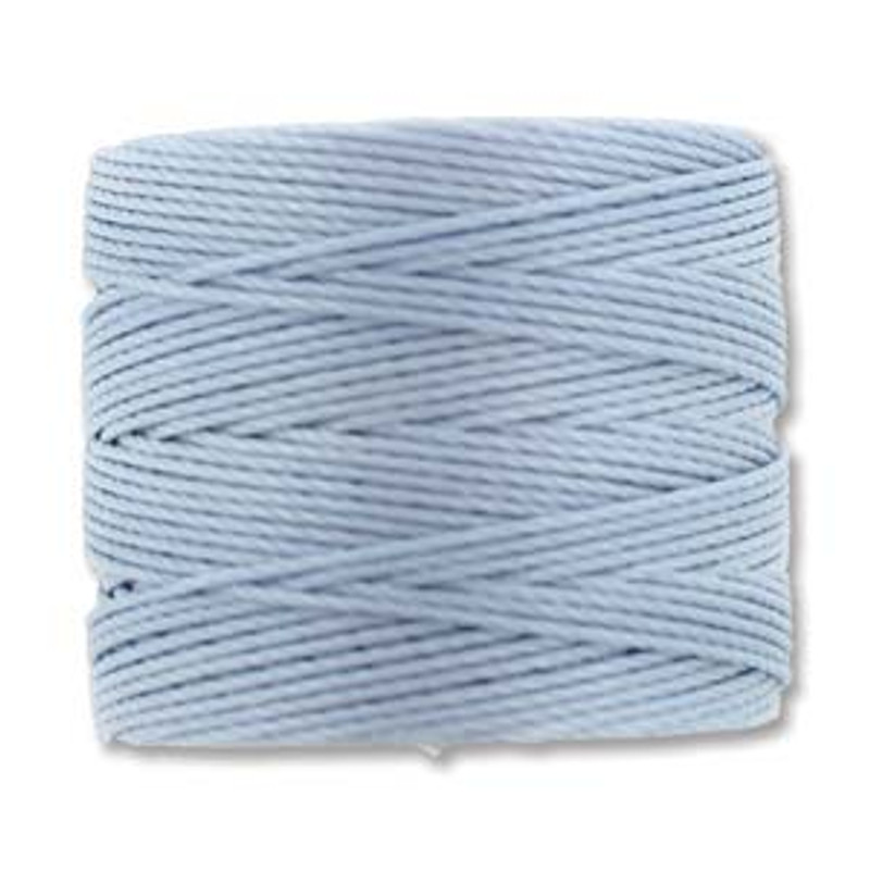 S-Lon Bead Cord, Blue Morning (TEX 210, Medium Weight) (77 yd)
