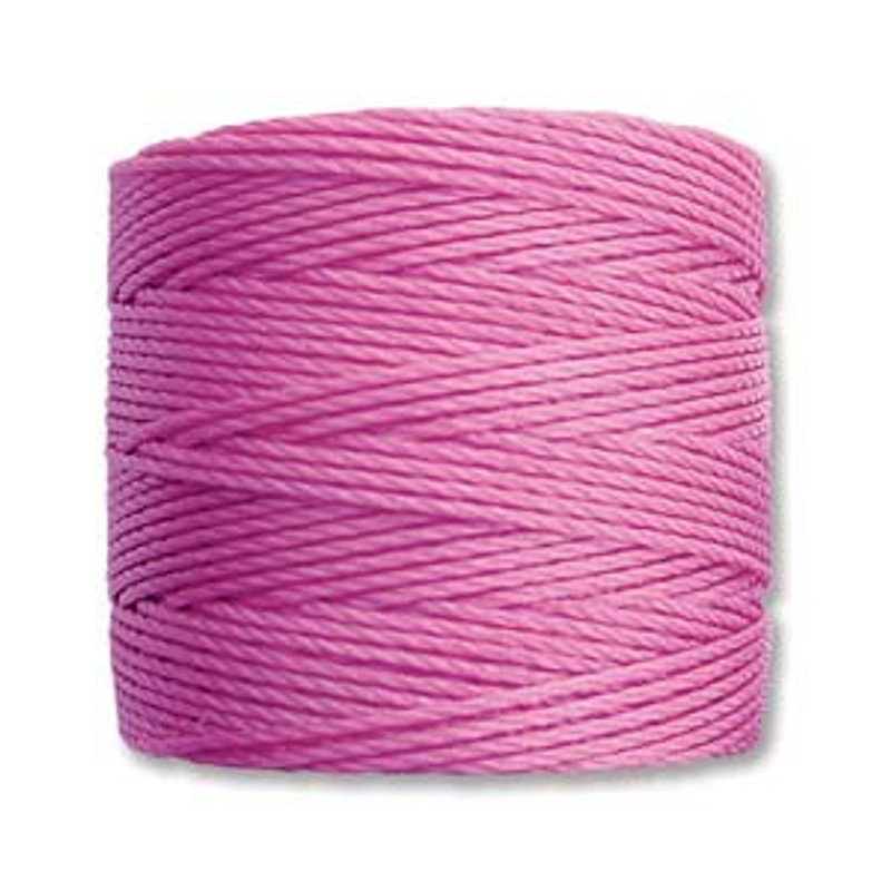 S-Lon Bead Cord, Light Orchid (TEX 210, Medium Weight) (77 yd)