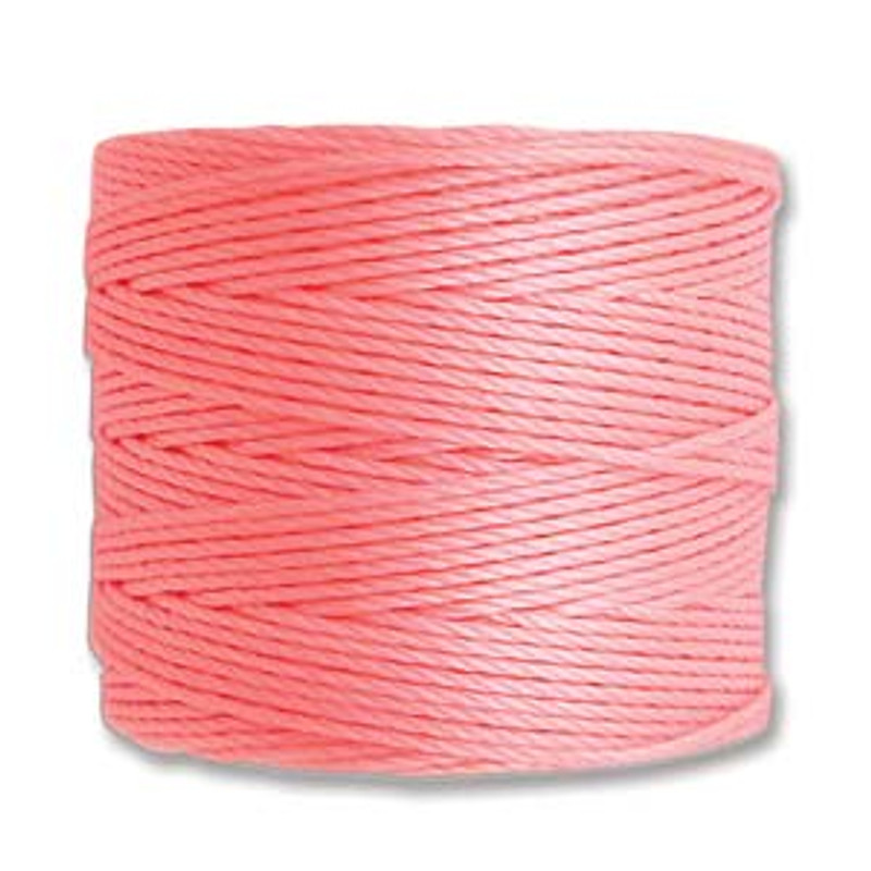 S-Lon Bead Cord, Light Pink (TEX 210, Medium Weight) (77 yd)