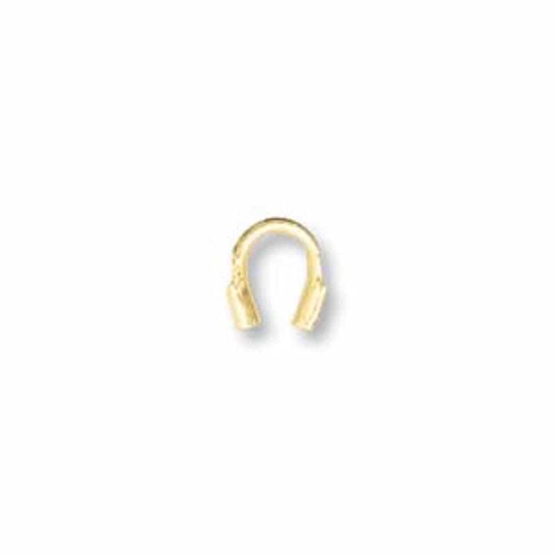 Wire Guard, Gold Tone, 4mm (Qty: 20)