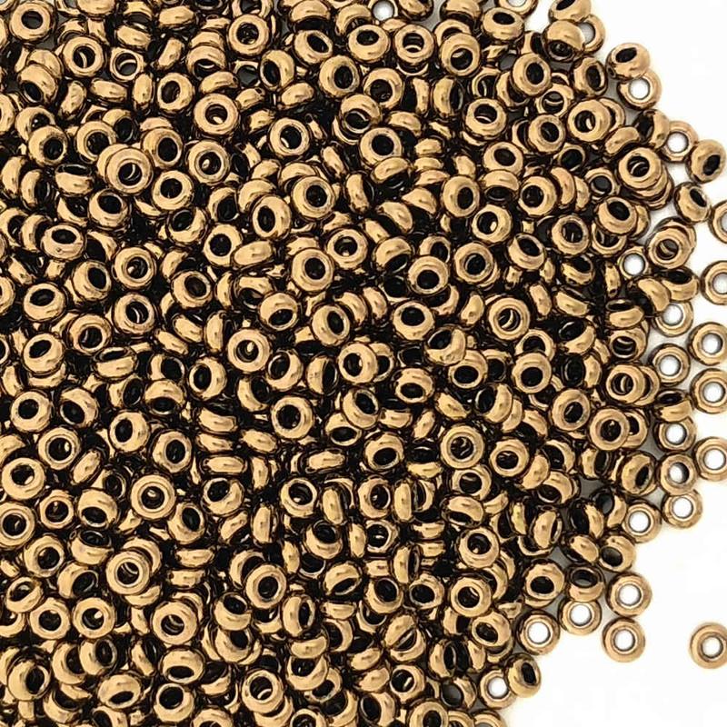 Size 11 Demi Rounds, 0457G, Bronze (Toho 221) (10 gr.)
