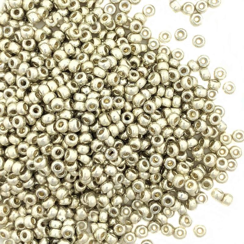 15-D4201, Duracoat Silver (Miyuki) (14 gr.)