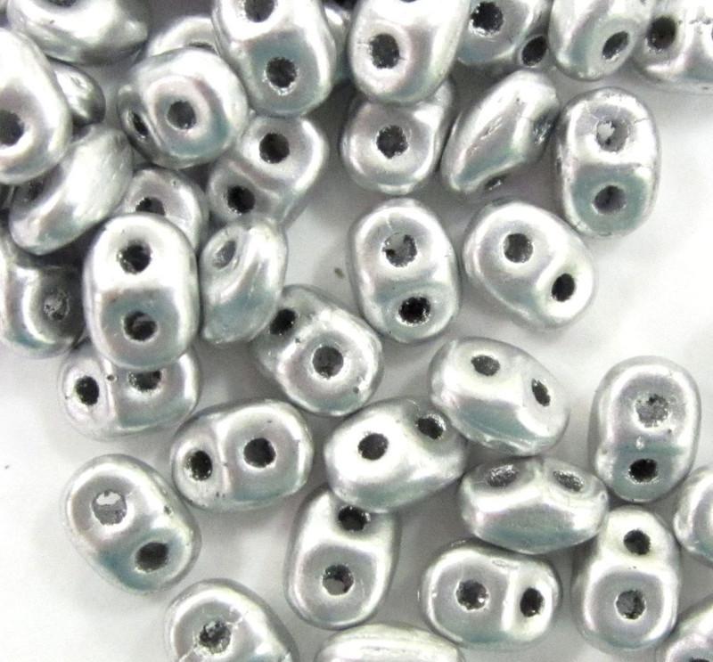 SuperDuos, Crystal Bronze Aluminum (10 gr.)
