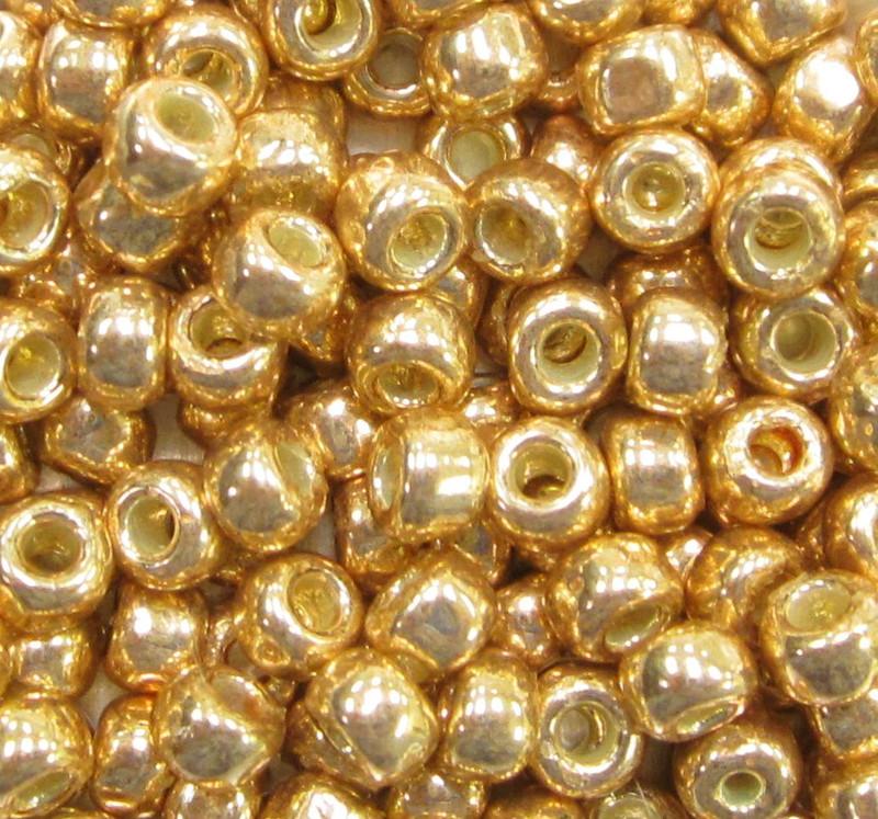 6-PF0471, PermaFinish Matte Gold (28 gr.) (Toho PF557F)