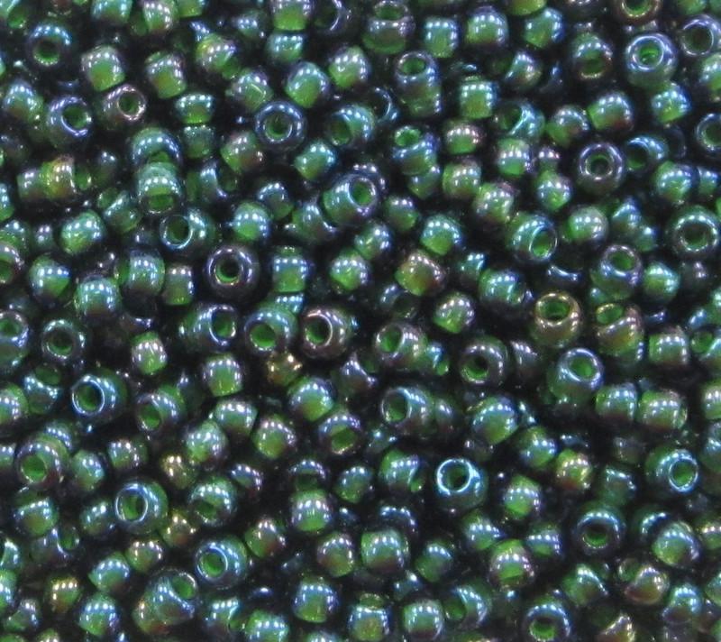 11-0338B, Emerald-Lined Olivine (28 gr.)
