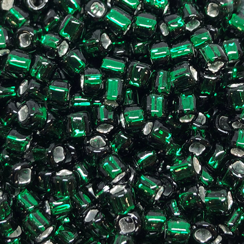 6-0016A, Silver-Lined Green (28 gr.)
