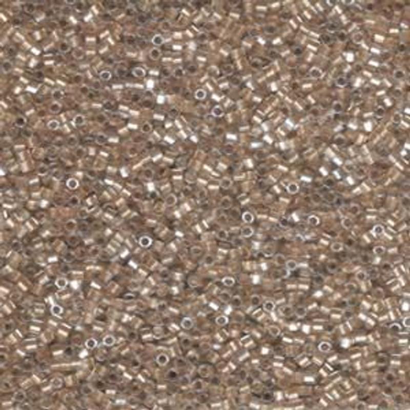 11-DBC-0907, Sparkling Light Bronze-Lined Crystal (Hex) (10 gr.)