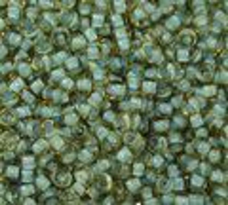 8-0374G, Seafoam-Lined Topaz (28 gr.)