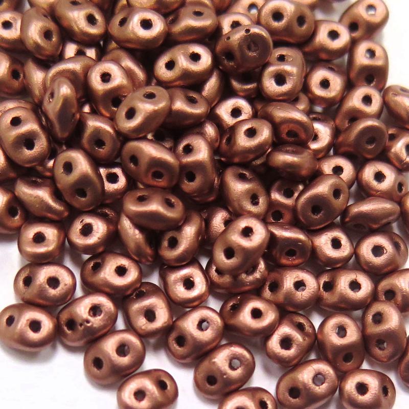 SuperDuos, Crystal Bronze Copper (10 gr.)