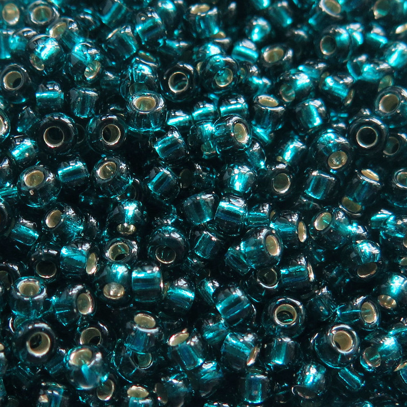 6-1425, Dyed Silver-Lined Blue Zircon (28 gr.)