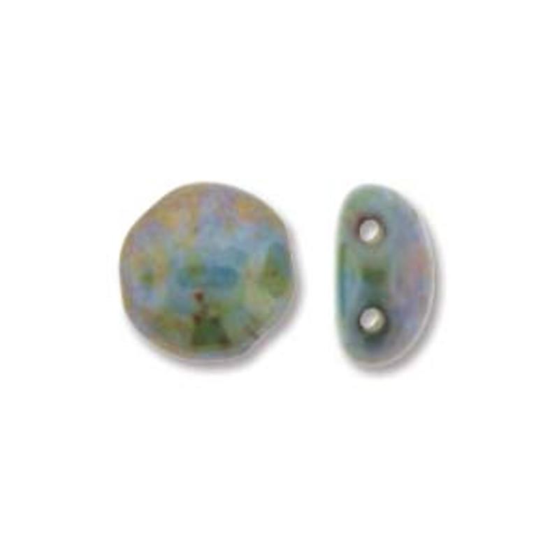 8mm Candy Beads, Lazure Blue (Qty: 20)