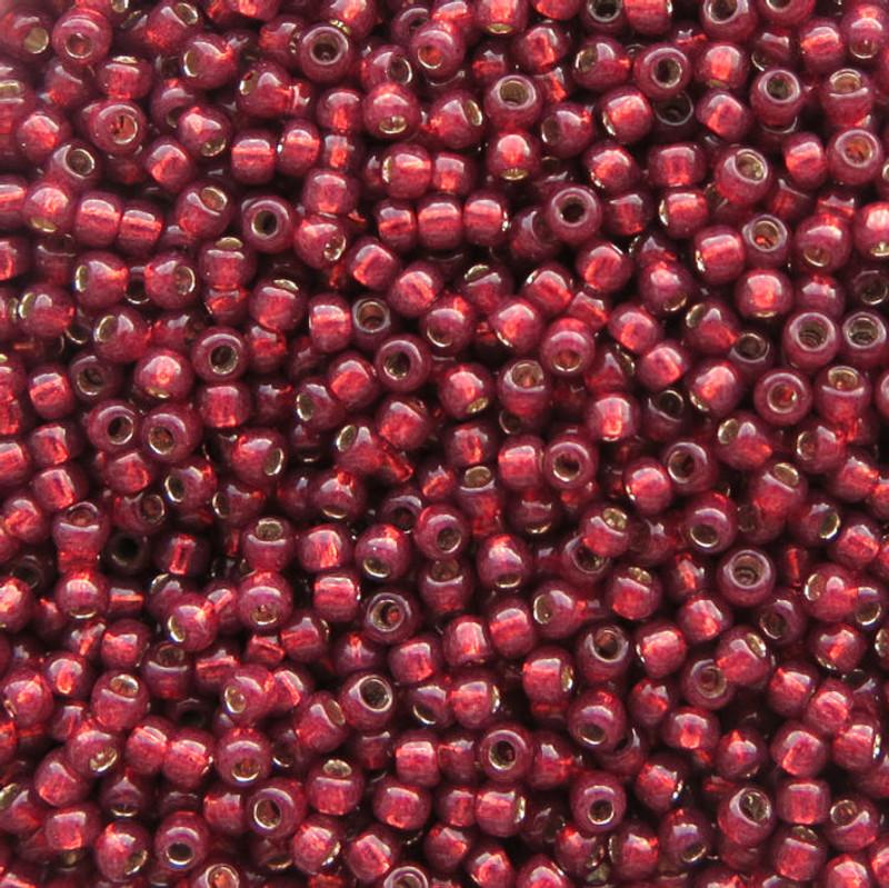 11-0581A, Gilt-Lined Cranberry (28 gr.)