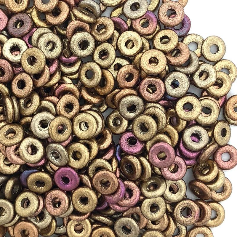 O Beads, Metallic Mix (10 gr.)
