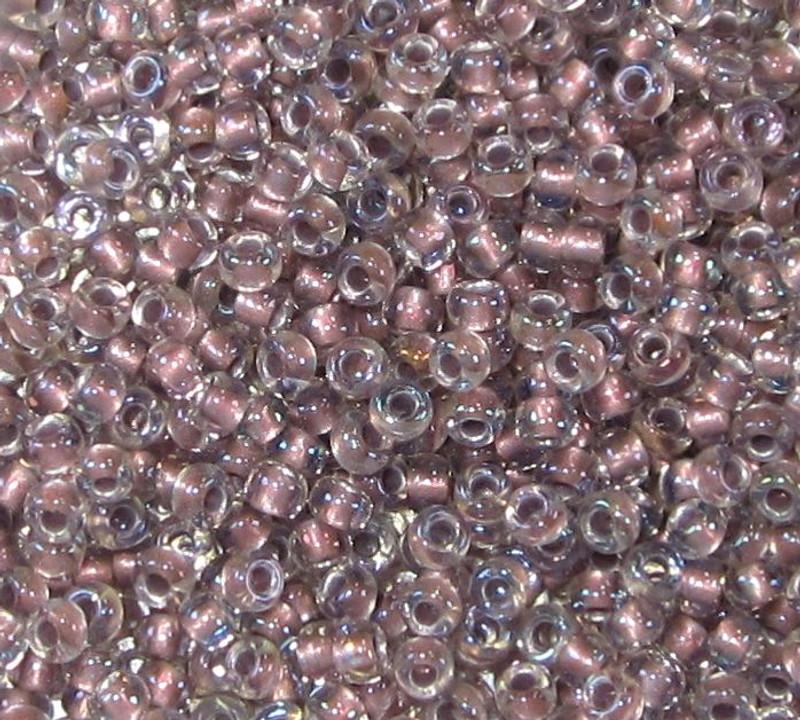 8-0377G, Metallic Rose-Lined Crystal (28 gr.)