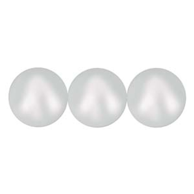 4mm Swarovski Pearls, Iridescent Dove Grey (Qty: 50)