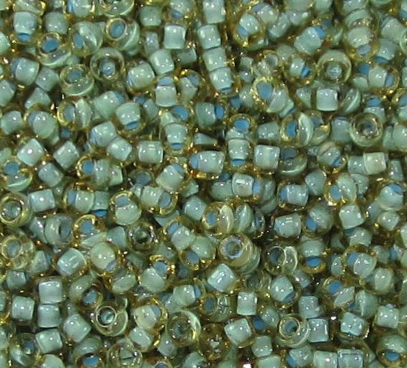 11-0374G, Seafoam-Lined Topaz (28 gr.)