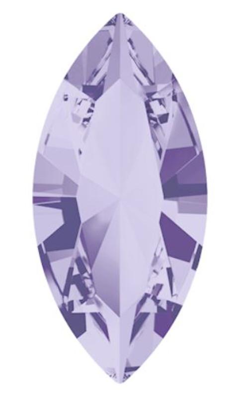 15 x 7mm Swarovski Navette, Provence Lavender (Qty: 1)