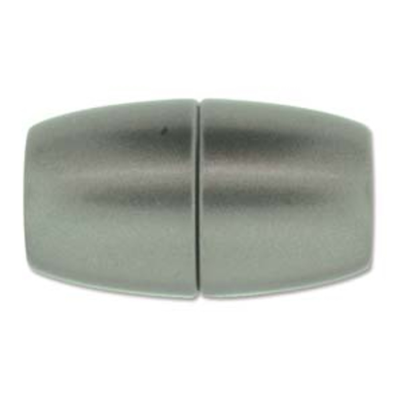 Acrylic Magnetic Clasp 41x24mm with 15.5mm ID - Matte Granite (C220)