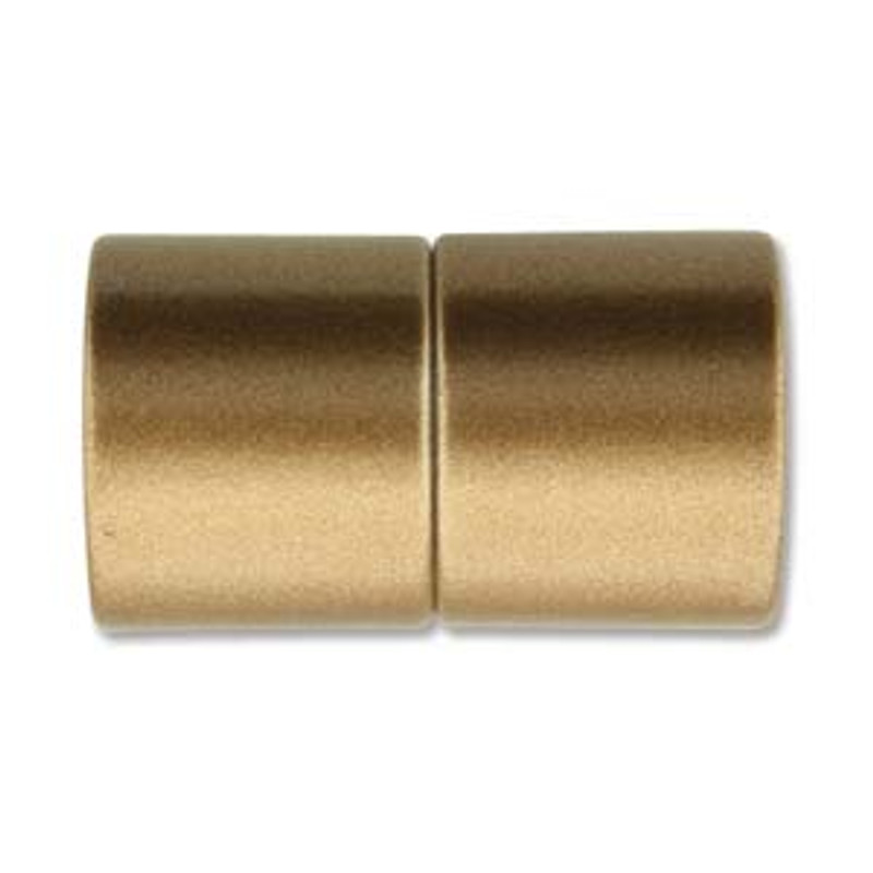 Acrylic Magnetic Clasp 26x15mm with 12mm ID - Matte Bronze (C236)