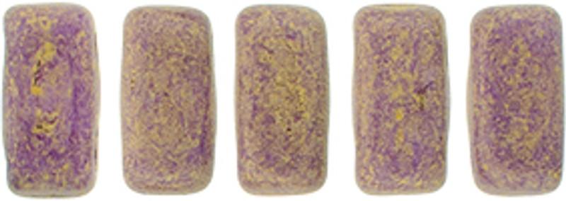 CzechMates 2-Hole Brick Beads, Pacifica Fig (10 gr.)