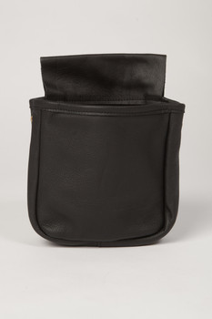 Single Pouch Wide Gusset- Black