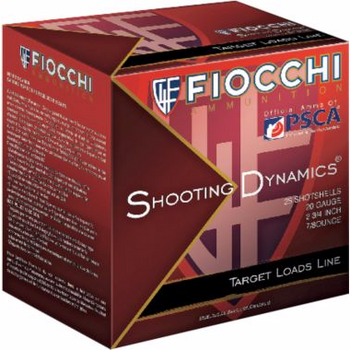 12 Gauge Fiocchi Target Shooting Dynamics 1165FPS 1 1/8oz - Flat (10 boxes)