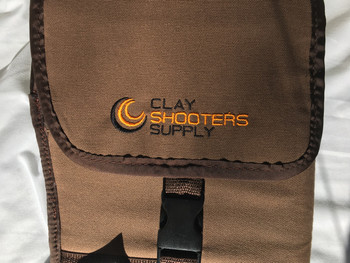 Clay Shooters Supply  Nylon Shotgun Slip - Brown