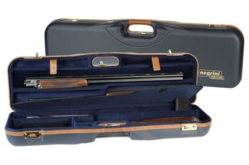 Negrini OU/SxS Deluxe 3 Barrel Set Shotgun Case – 1646LX-3C/4879