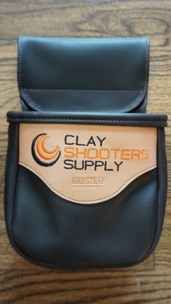 Clay Shooters Supply  Leather Shell Bag - Single