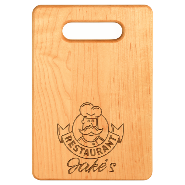 """Engraved Maple Cutting Board 9"""" x 6"""""""