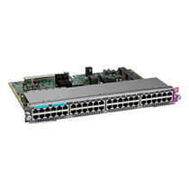 Cisco - WS-X4748-12X48U+E - Cisco Expansion Module - For Data Networking 36 RJ-45 10/100/1000Base-T UPoE LAN, 12 RJ-45 10GBase-T UPoE LAN - Twisted PairGigabit Ethernet, 10 Gigabit Ethernet (WS-X4748-12X48U+E)