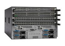 Cisco Nexus 9504 Chassis Bundle - switch - managed - rack-mountable - with (N9K-C9504-B2)