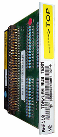 AHF110 TDM/LAN Bus Terminator
