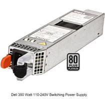 0P7GV4 Dell PE Hot Swap 350W Power Supply (0P7GV4)