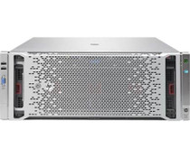 HPE ProLiant DL560 Gen8 Performance Server - Xeon E5-4640V2 2.2 GHz - 128 GB RAM - No HDD - Matrox G200 (732342-001)