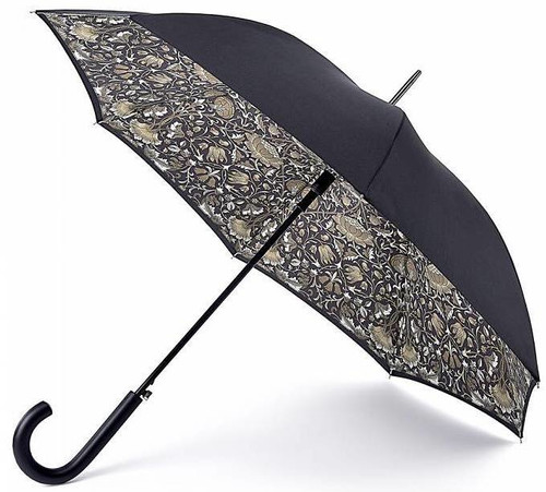 WILLIAM MORRIS & Co LODDEN PURE AUTO OPEN BLOOMSBURY WALKING UMBRELLA