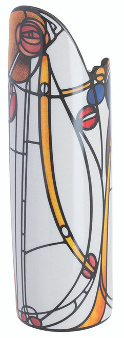 Rennie Mackintosh Rose Boudoir Ceramic Art Vase 26cm Height Dartington John Beswick Gift Boxed Parastone