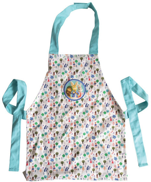 Peter Rabbit & Friends Lily Bobtail Cotton Garden Apron Age 3-6 Adventurer BBC