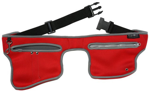 Burgon & Ball Poc-kit Gardeners Utility Belt Machine Washable Pockit Poppy Red