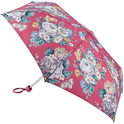 Cath Kidston Norfolk Rose Vintage Pink Minilite Folding Handbag Umbrella