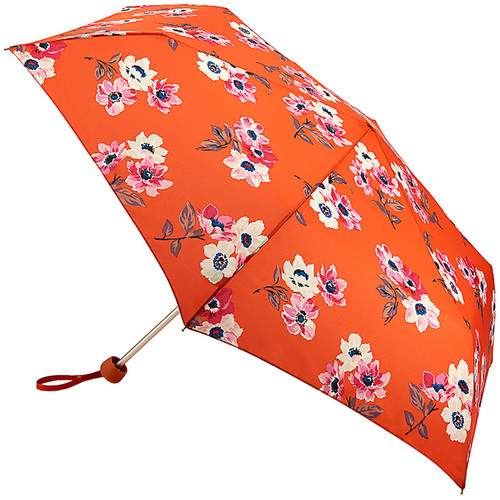 Cath Kidston Anemone Bouquet Folding Umbrella Minilite Handbag Size With Matching Cover