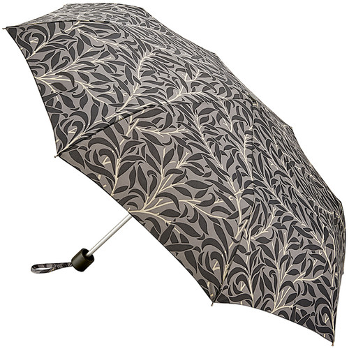 William Morris Willow Bough Pure Minilite Handbag Compact Size Folding Umbrella With Matching Cover